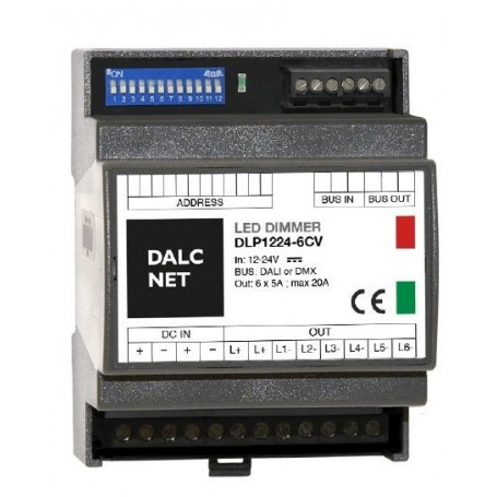 DLP1224-6CV-DMX-RJ45-PHO1