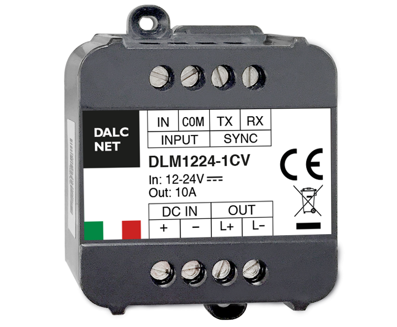 Dimmer LED Dalcnet DLM1224 a 1 canale
