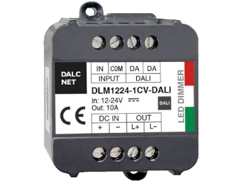 Dimmer LED Dalcnet della serie DLM per applicazioni DALI 2