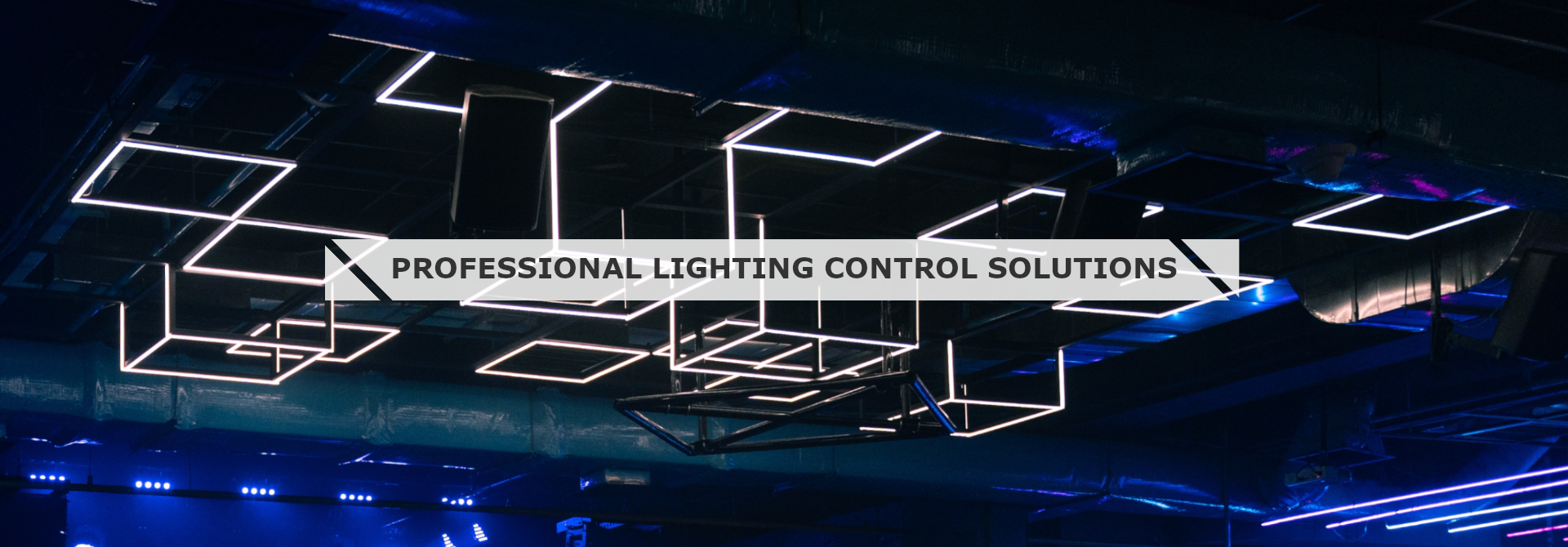 Professional lighting control solutions such as LED dimmer and RGB controller
